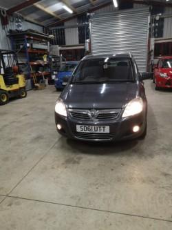 2011 Vauxhall Zafira 1.7CDTI Ecoflex