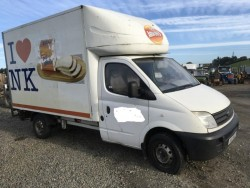 LDV MAXUS 3.5T 120 2.5CDI SINGLE WHEEL LUTON