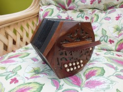 antique concertina