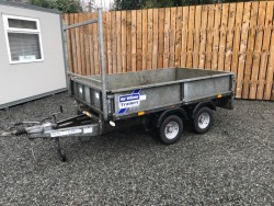 IFOR WILLIAMS 8X5 DROPSIDE TRAILER WITH HEADBOARD