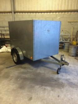 6x4 Galvanized Bronniss  Box trailer