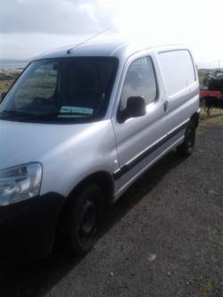 2009 Peugeot Partner Van for breaking