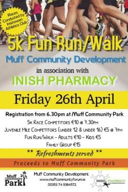 Annual 5k Fun Run/Walk