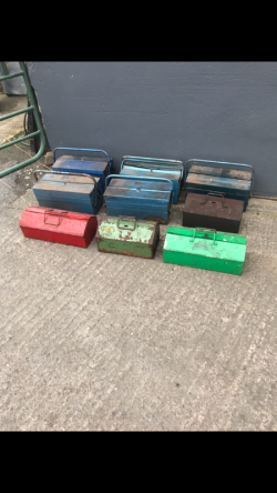 SELECTION OF TOOL BOXES