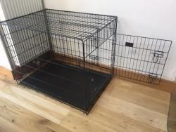 Dog Crate Black 90cm