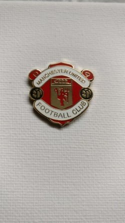 Manchester United Lapel Badge