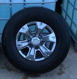 Toyota hilux alloy wheels