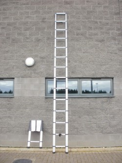 Telescopic pop-up ladders...