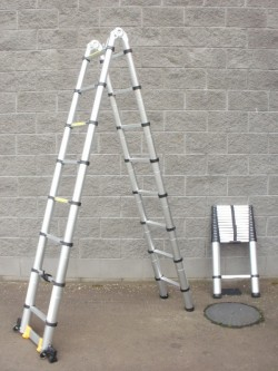 A-Frame Telescopic Pop-up Ladders...
