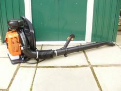 Back-pack leaf blowers...