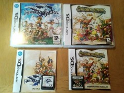 Nintendo Ds Children Of Mana Heroes Of Mana Complete With Booklets Excellent