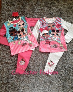 Girls official L.O.L Surprise Doll cotton twosie/PJs 4-5 Y