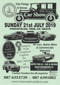 Trim Vintage and Classic Car Show
