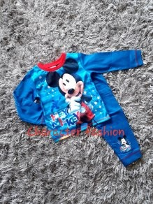 Boys Official Mickey Mouse cotton Pyjamas 3-4 Y