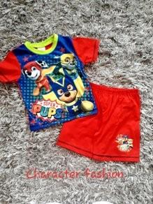 Boys Paw Patrol shortie summer pyjamas 2-3 Y