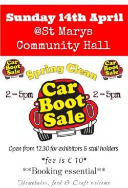 Spring Clean Car Boot Sale