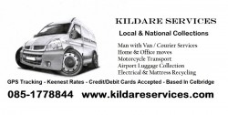 Kildare Services - Man With Van Courier Services