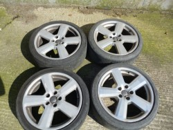 "Genuine Audi 18"" rs6 alloy wheels"