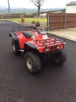 Honda big red ATV Farm Quad Bike 4x4