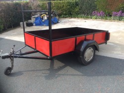 For Sale Car Trailer 7' x 4'6""