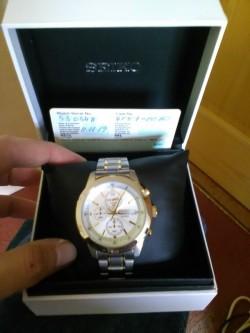 New Seiko Chronograph