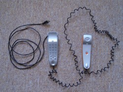 A SKYPE, VOIP, PHONE HANDSET, 100% GENUINE With INTEGRATED USB CABLE, + BT LANDLINE PHONE
