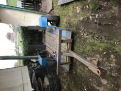 Forklift trailer