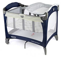 Graco travel cot suitable from birth