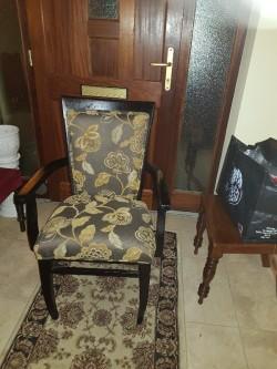 New decorative  carver arm chair