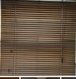"4 sets of Wooden blinds 36"" x 48"""