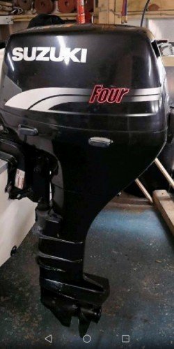Suzuki 15Hp 4-stroke Longshaft Electric Start