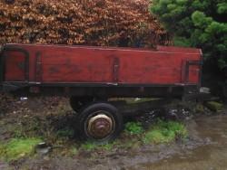 Wooden Tractor Trailer