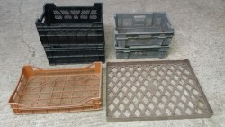 Stackable Crates, Plant Carry Trays Seed Trays etc