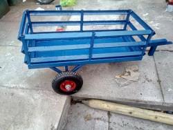 Child's go kart trailer