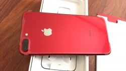New iphone 7 plus red 256GB