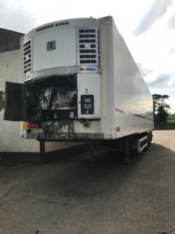 40FT TRAILER WITH CHECKER PLATE FLOOR
