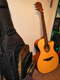 Lag Tramontane T80ACE Acoustic Guitar