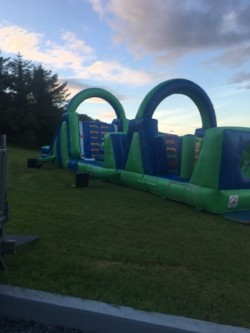 Bouncy castle Obstacle course 50foot