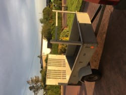 7x4 steel galvanised car trailer