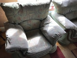 Sofa 3-2-1 + Footstool