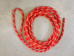 Cored braided rope
