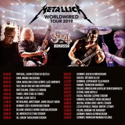 2 x Metallica Hardwired tickets