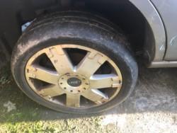 "Ford 17"" alloys"