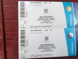 2 sea sessions, Saturday only tickets