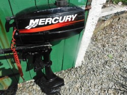 Mercury 3.3 hp out board engine