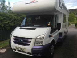 Ford CI Motor home for sale. 5 Berth, low mileage