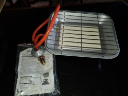 Brand new wall gas heater in box