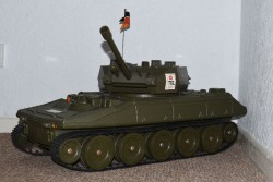 Action Man Cherilea Sheridan Tank from 1970s