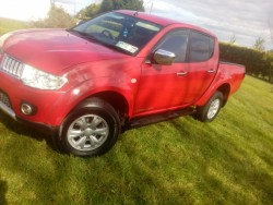 Mitsubishi L200 crew cab jeep , taxed and tested