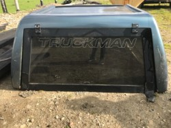 Canopy for a crew cab pickup